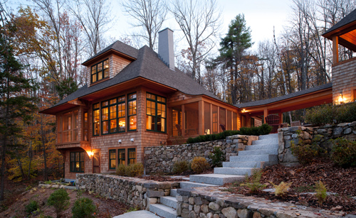 Architects Best Homes New Hampshire Home January