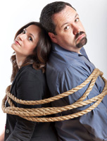 Kevin Flynn and Rebecca Lavoie